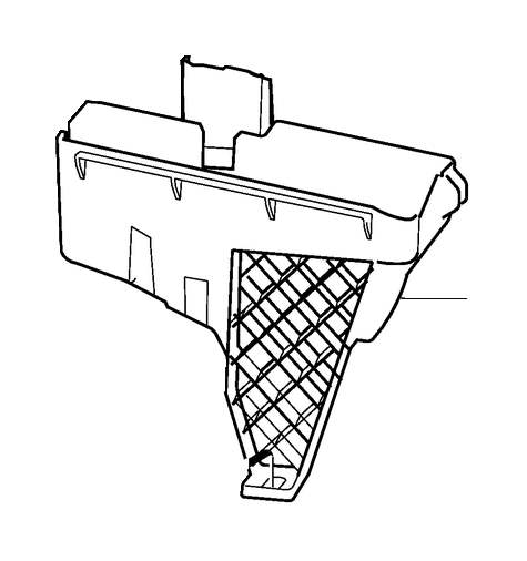 30728132 - electronics box  compartment  engine  electrical