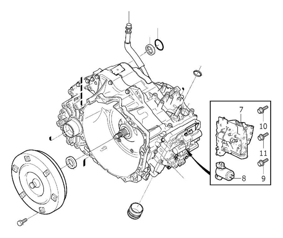 Volvo Xc90 Transmission Parts Diagram