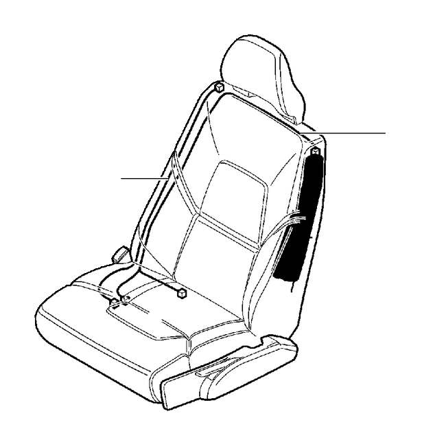 Volvo S60 Harness  Seat  Without  Subframe - 30749692
