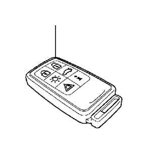 31252292  Battery System  Control  Key  Genuine Volvo Part