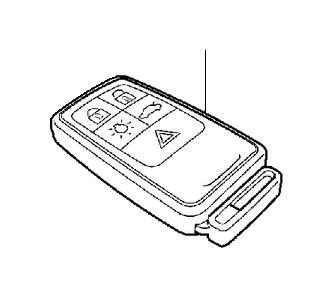 30659637  Remote control System  Key  MHz  Genuine