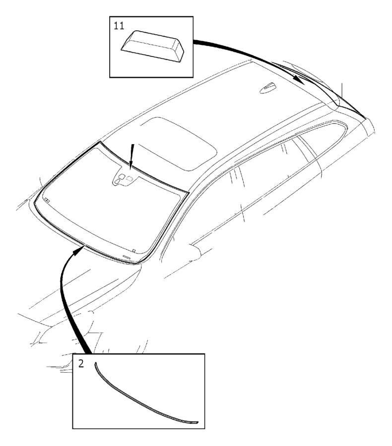 volvo s60 windshield  windscreen  window  rear