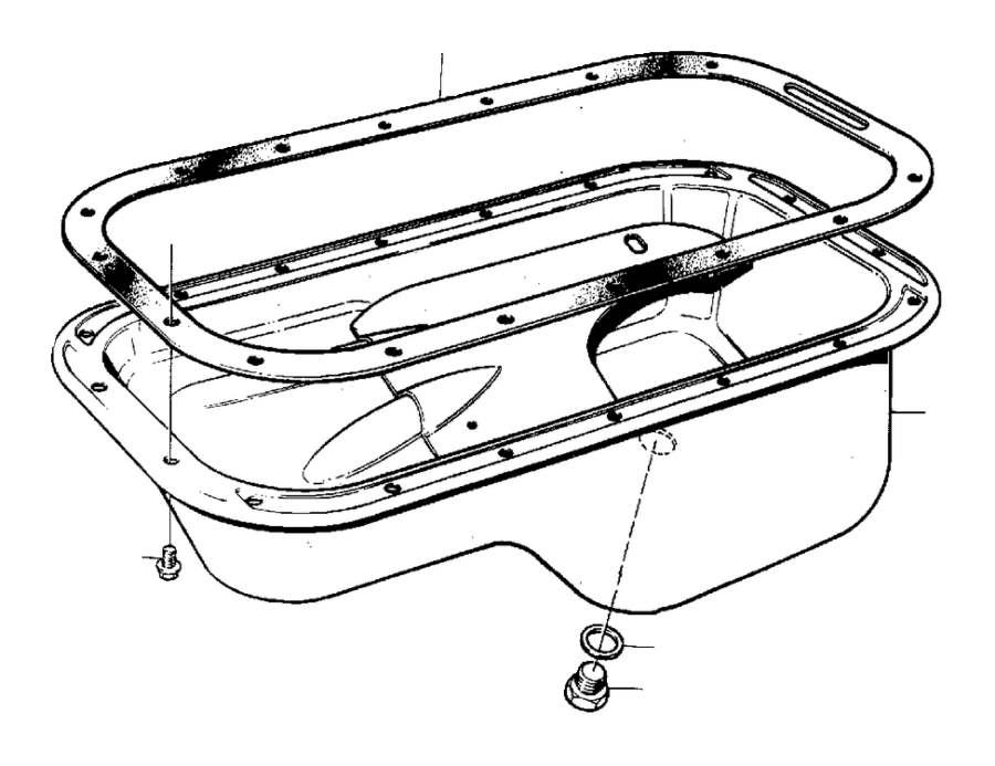 1276121 - oil sump  genuine classic part  system  lubricating  turbo