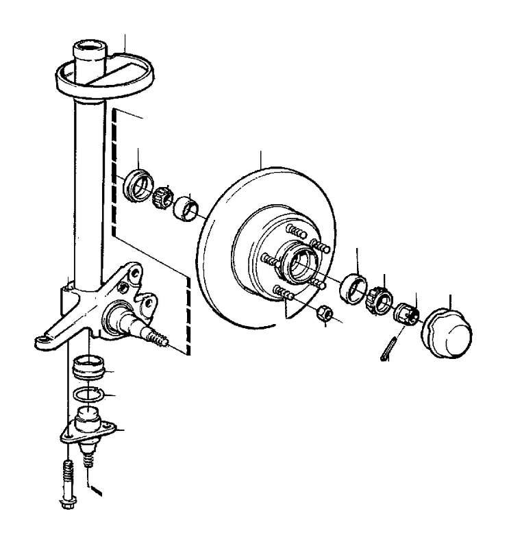 271391 - front wheel bearing kit  genuine classic part  app  repair  kits