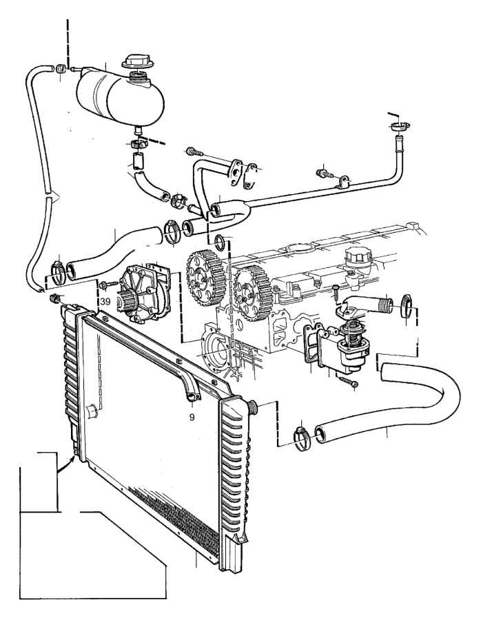 3547226 - radiator drain plug  drain tap