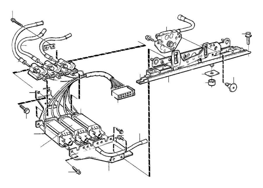 1998 Volvo V90 Heat shrinkable Tubing. Side Operated ...