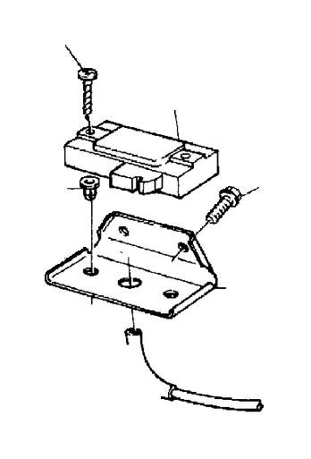 2001 Volvo S40 Pressure Sensor  Engine Compartment  Fuel Supply  Regulating System