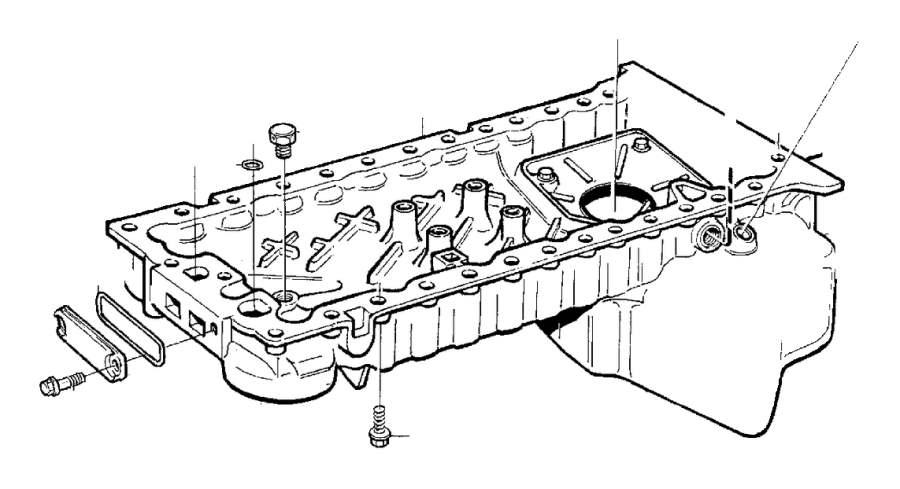 2008 Volvo Flange Screw  Engine  System  Mounting - 985323