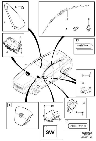 C Af Dbef on Volvo S60 Door Parts Diagram