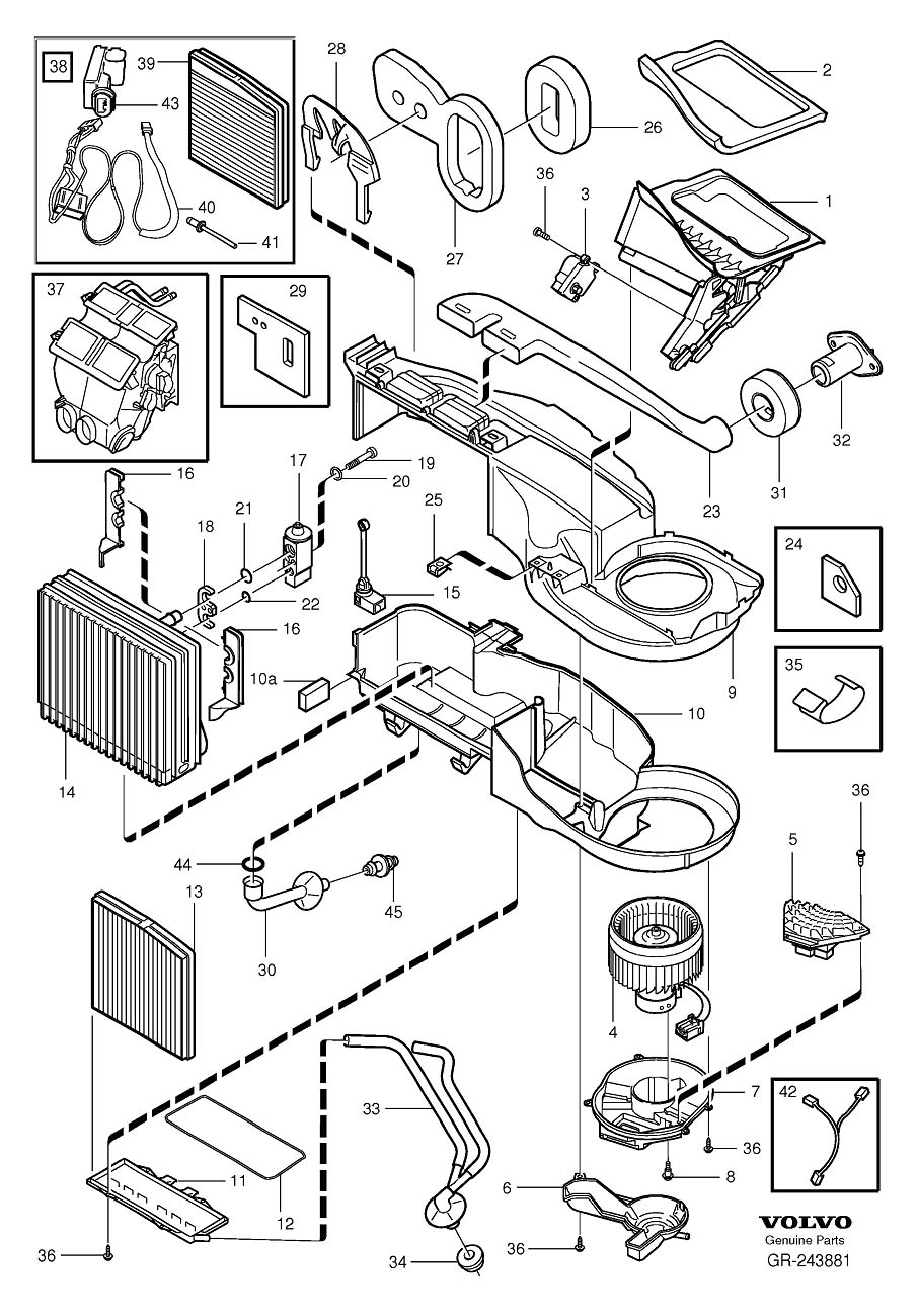Volvo S70 Parts Diagram Electrical Schematics 850 2003 S80 Wiring U2022 S60 T5