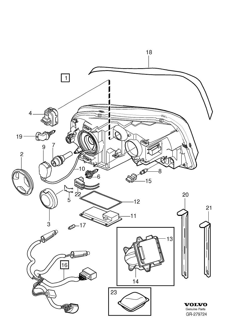 2006 Volvo XC90 High Intensity Discharge Headlight Igniter ...