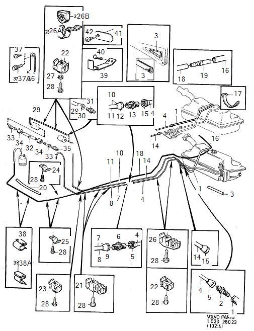 2012 Volvo Clamp  Fuel  Engine  Lines - 948524