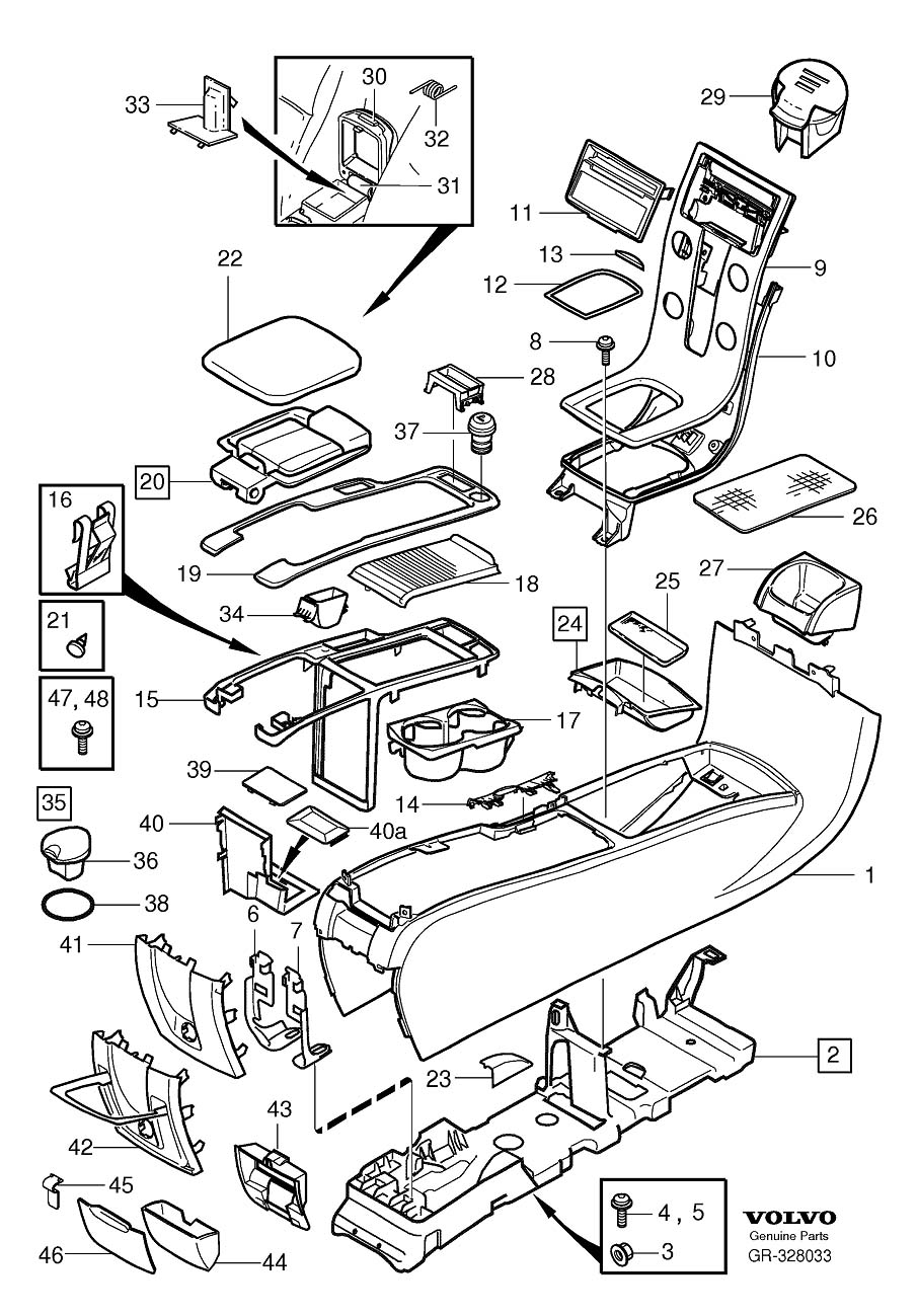 8685461 - Cigarette Lighter Element  Other  Switch  Tunnel