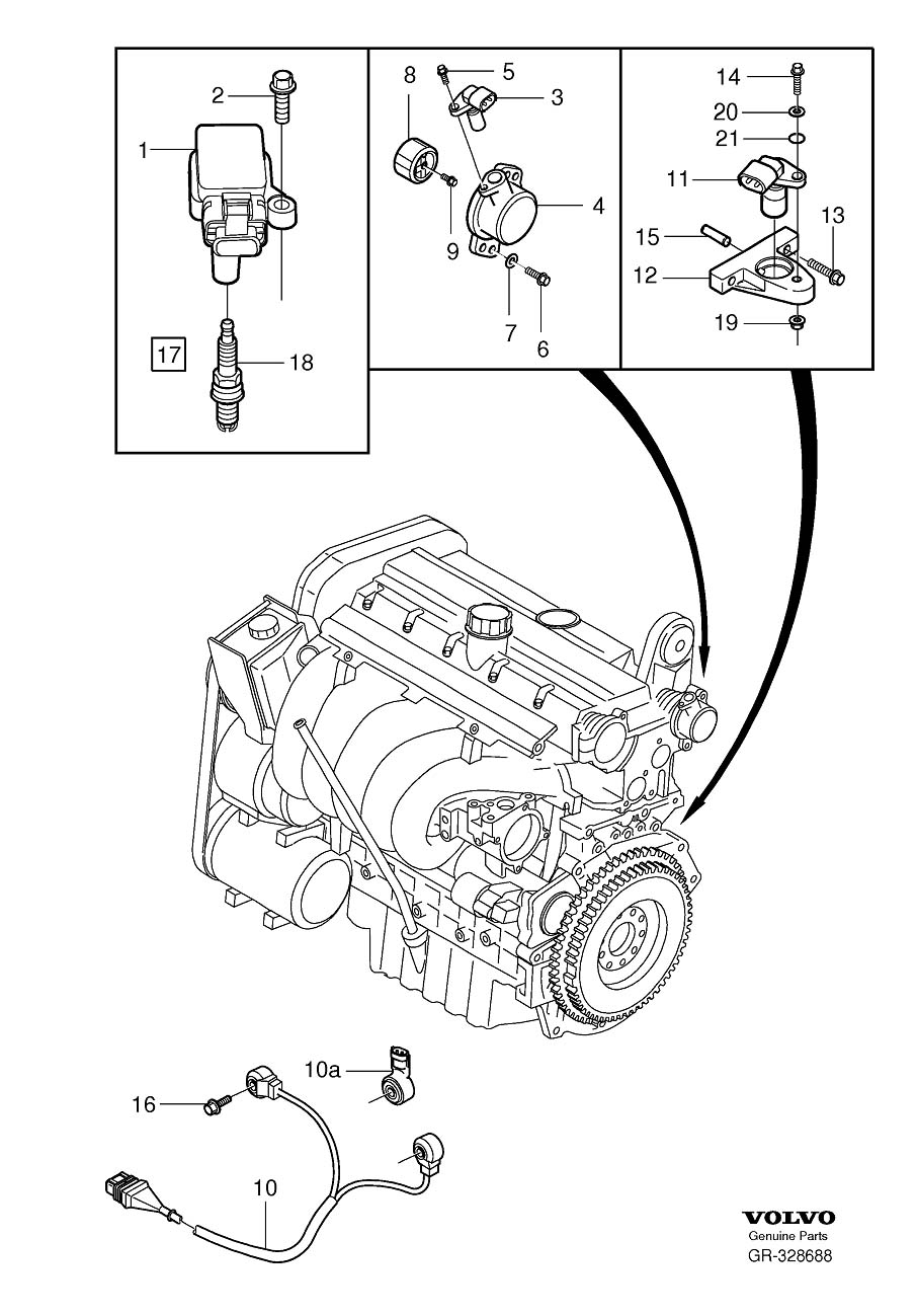 30637914 - washer  genuine classic part  system  ignition  turbo  eng  engine
