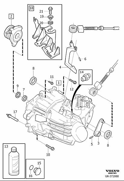 31280772 - Transmission Oil  Manual  Gearbox  Exc