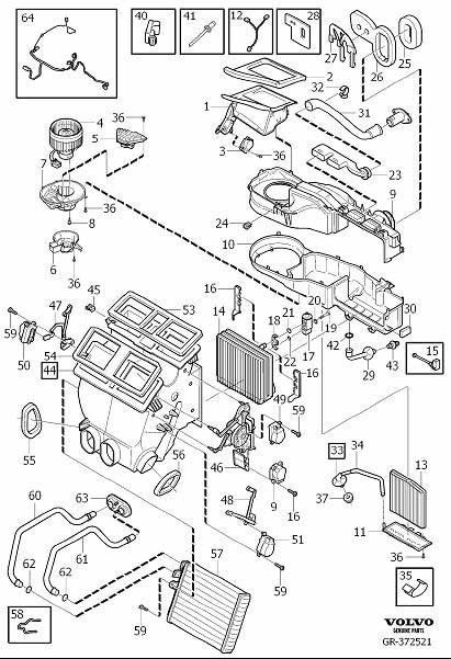 9171544 - Hvac Mode Door Lever Link