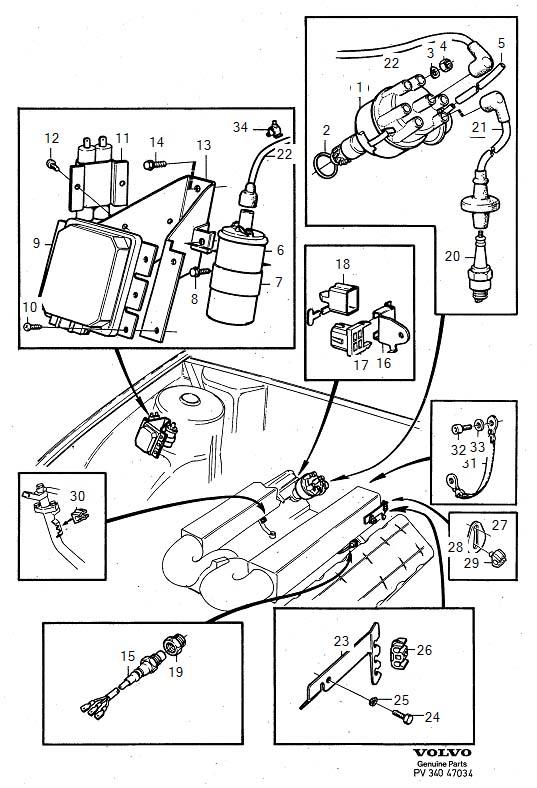 1269915 - spark plug  genuine classic part  ignition  system