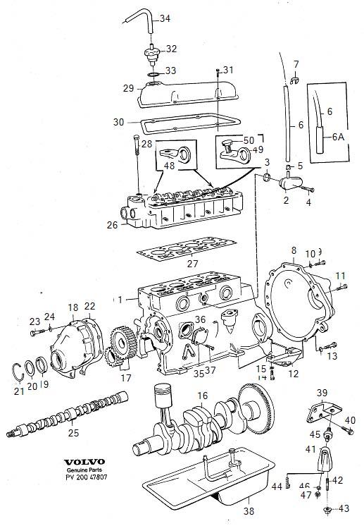 1276438 - Hose  Ventilation  Crankcase  Cooling