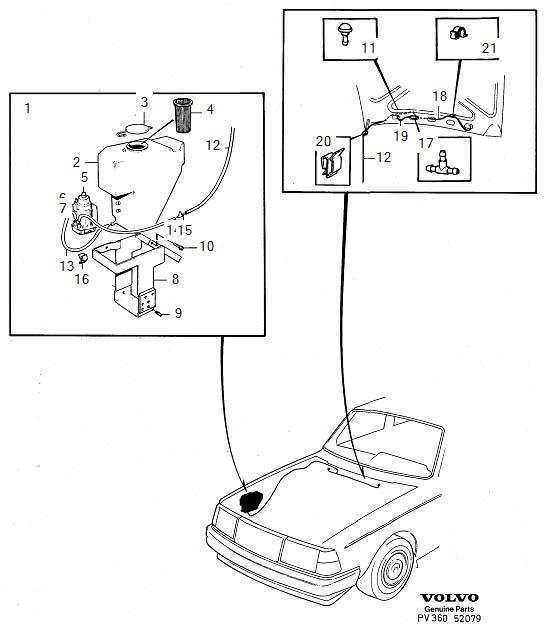1382494 - washer nozzle  washers  windshield  windscreen