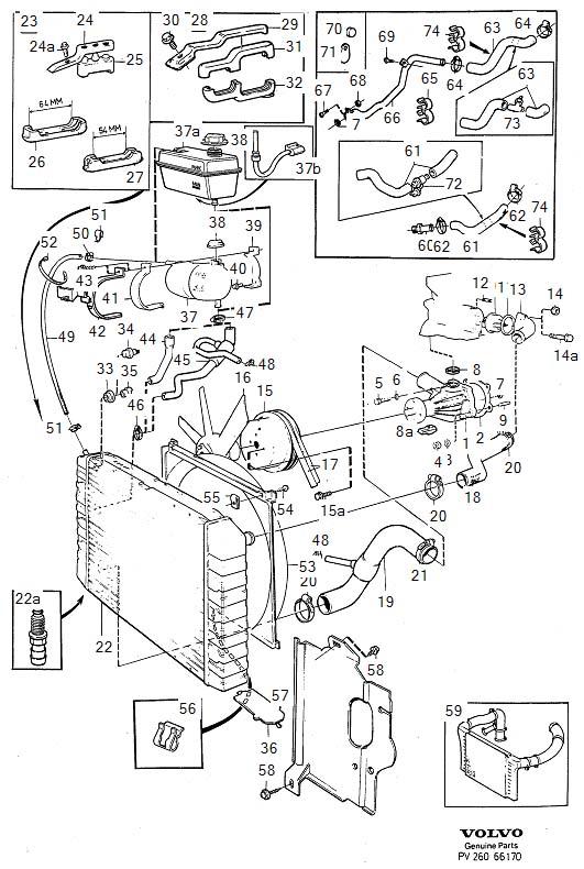 1336133 - Hose  Cooling  System  Outlet