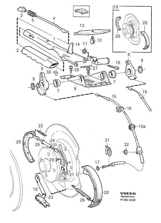 9485387 - expander  brake  parking  link