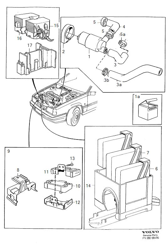 9141016 - hose  genuine classic part  system  regulating  inlet