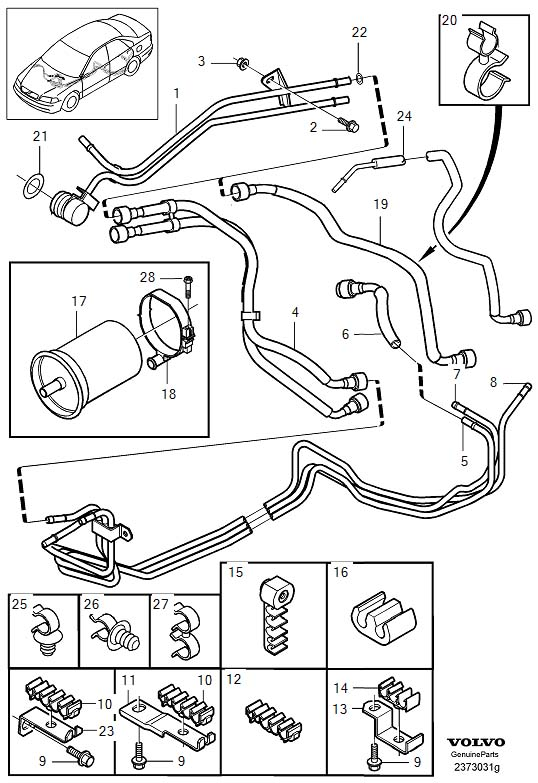 engine diagram for 3 2 volvo  2001 dodge caravan cooling