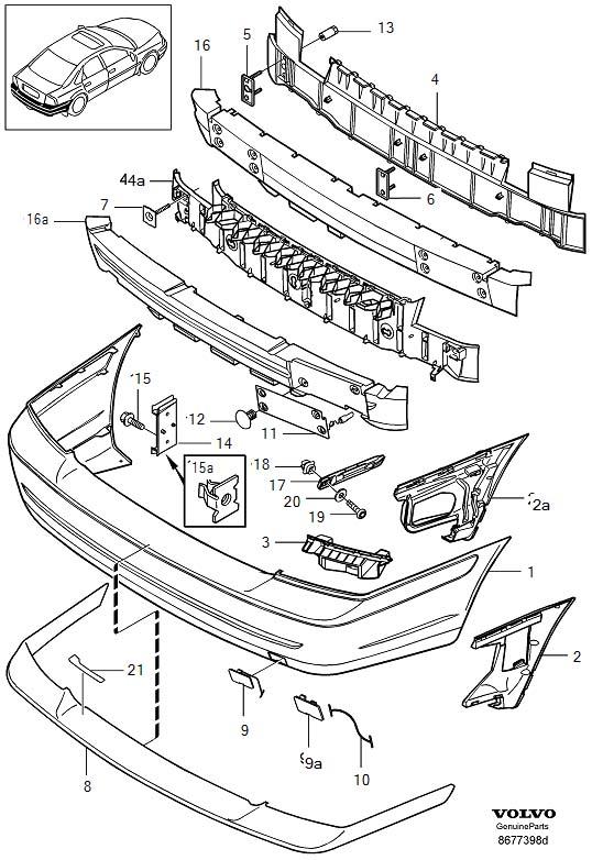2000 volvo s80 interior parts